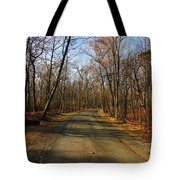 Late Fall At Cheesequake State Park Tote Bag