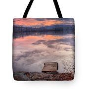 Late Fall Early Winter Tote Bag