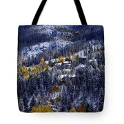Late Fall In Vail Tote Bag