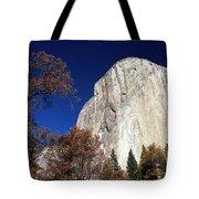 Late Light On Face Of  El Capitan Tote Bag