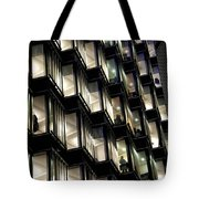 Late Night Worker Tote Bag