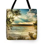Late Summer Afternoon On The Mississippi Tote Bag