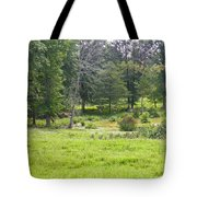 Late Summer By The Pond Tote Bag