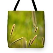Late Summer Grasses Tote Bag