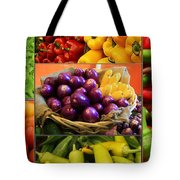 Late Summer Harvest Tote Bag