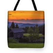 Late Summer Sunset Tote Bag