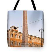 Lateran Obelisk In Rome Tote Bag