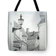 Latern Tote Bag by Jackie Mestrom