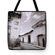 The Alleys Of Cuzco Tote Bag