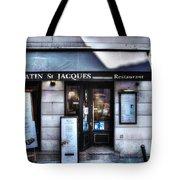 Latin St Jacques Paris France Tote Bag