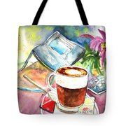 Latte Macchiato In Italy 01 Tote Bag by Miki De Goodaboom