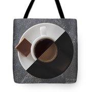Latte Or Espresso Tote Bag