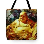 Laughing Buddha  Tote Bag