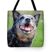 Laughing Dog Tote Bag