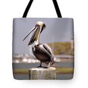 Laughing Pelican Tote Bag