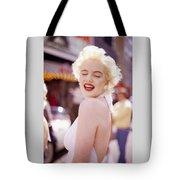 Laughter Of Marilyn Tote Bag