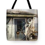 Launch Office Mcmillian Wharf Provincetown Tote Bag
