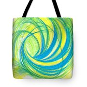 Launch Yourself On Every Wave Tote Bag