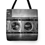 Laundromat Art Tote Bag