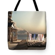 Laundry Day Tote Bag by Cynthia Decker