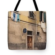 Laundry Day In Verona Tote Bag