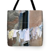 Laundry I Color Venice Italy Tote Bag