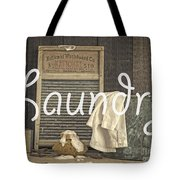 Laundry Room Sign Tote Bag