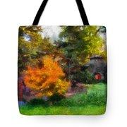 Laura Bradley Park Japanese Garden 02 Tote Bag