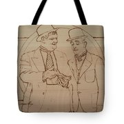 Laurel And Hardy - Thicker Than Water Tote Bag