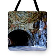 Laurel Creek Road Tunnel Tote Bag