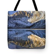Laurel Mt And Convict Lake Sierra Tote Bag