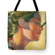 Lauren With Pollywog Tote Bag