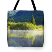 Laurentian Summer Morning Tote Bag