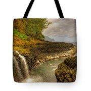 Lava Inlet Tote Bag