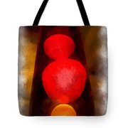 Lava Lamp Photo Art 04 Tote Bag