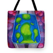 Lava Lamp Tote Bag