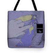 Lavendar Dress Tote Bag