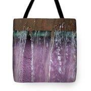 Lavendar Falls Tote Bag