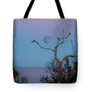 Lavendar Moon Tote Bag