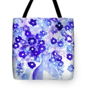 Lavender And Blue Impressions Of Spring Tote Bag