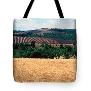 Lavender And Corn Fields In Summer Tote Bag