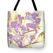 Lavender And Gold Tote Bag