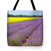 Lavender And Mustard Tote Bag