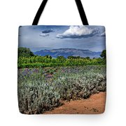 Lavender And Sunflowers Tote Bag