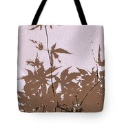 Lavender And Taupe Haiku Tote Bag
