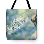 Lavender And The Butterfly Tote Bag