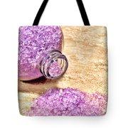 Lavender Bath Salts Tote Bag