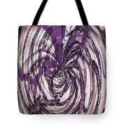 Lavender Bead Art Tote Bag
