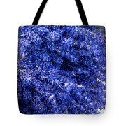 Lavender Bunch Flowers Tote Bag