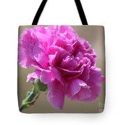 Lavender Carnation Tote Bag